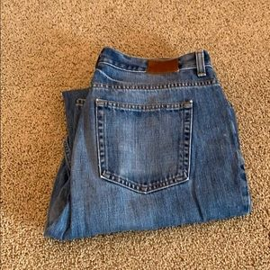 Mens JCrew regular jeans Sz 36 x 32